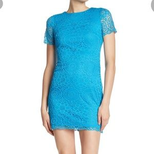 NWT Laundry by Shelli Segal Lace Minidress